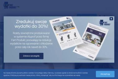 FART PRODUKT - Żaluzje, moskitiery Toruń