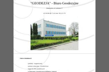 """""""GEODEZJA"""" - Biuro Geodezyjne - Geodeta Hrubieszów"""