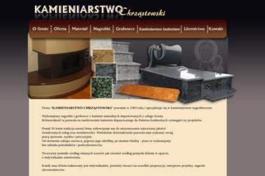 Kamieniarstwo Chrząstowski - Nagrobki Sandomierz