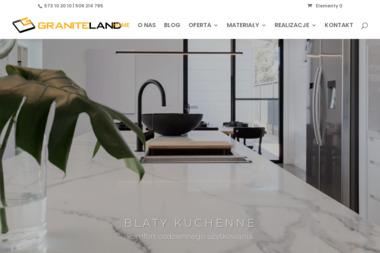 Graniteland s.c. - Parapety Wewnętrzne z Konglomeratu Wieliczka