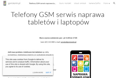 Naprawy telefonów GSM - Serwis komputerów, telefonów, internetu Konin