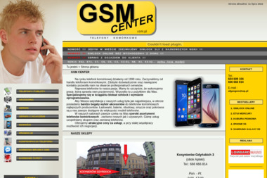 GSM Center - Serwis komputerów, telefonów, internetu Grudziądz