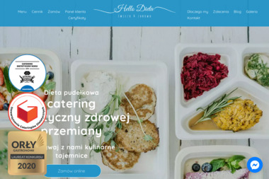 Hello Dieta - Firma Gastronomiczna Łajski