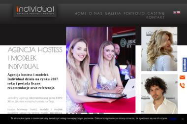 Individual - Agencja Hostess i Modelek - Wynajem Hostess Warszawa