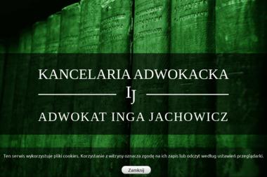 Kancelaria Adwokacka - Adwokat Inga Jachowicz - Kancelaria Rozwodowa Radomsko