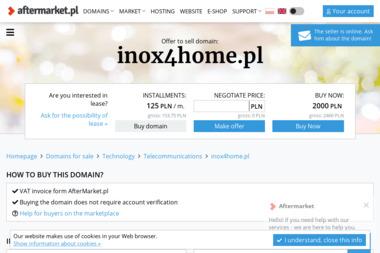 Inox4Home - Balustrady ze Stali Nierdzewnej Siepraw