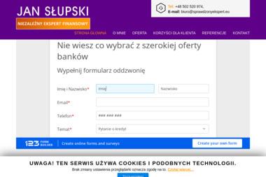 Jan Słupski Niezależy Ekspert Finansowy - Kredyty Oddłużeniowe Kraśnik