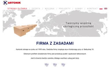 FPH Kartonik - Opakowania Cukiernicze Kołobrzeg