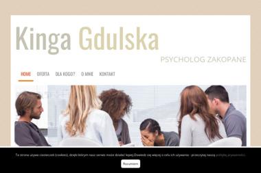 Gabinet Psychoterapeutyczny Kinga Gdulska - Terapia uzależnień Zakopane