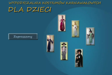 Wypożyczalnia kostiumów dla dziec - Wypożyczalnia strojów Katowice
