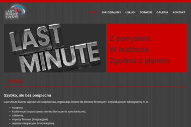 LAST MINUTE EVENTS - Agencje Eventowe 艁ód藕