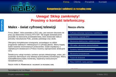 PHU Malex - Montaż Anteny Satelitarnej Police