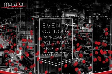 Manager Agencja Reklamowa - Agencje Eventowe Częstochowa