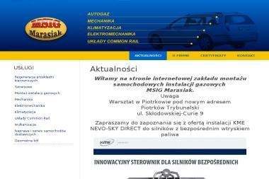 MSIG Marasiak - Auto Gaz Bełchatów