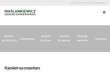 Maślankiewicz - Zakład Kamieniarski - Kostki Kamienne Łódź