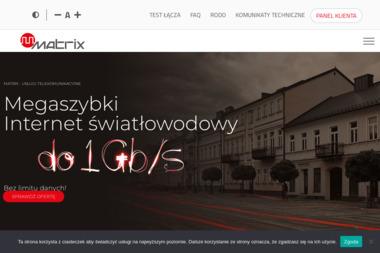 MATRIX Cezary Taraszkiewicz - Internet Suwałki