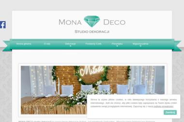 Mona Deco Studio Dekoracji - Wypożyczalnia strojów Bełchatów