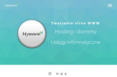 MyWare - Usługi Informatyczne - Strony internetowe Żagań