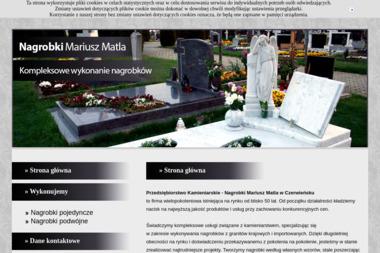 Przedsiębiorstwo Usługowo Handlowe Mariusz Matla - Nagrobki Czerwieńsk