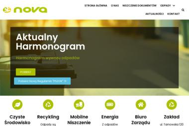 NOVA Sp. z o.o. ZAKŁAD ZAGOSPODAROWANIA ODPADÓW - Przetwarzanie odpadów Nowy Sącz