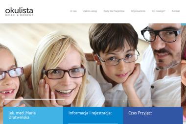 Lek. Med. Maria Dratwińska - Okulista Nakło nad Notecią