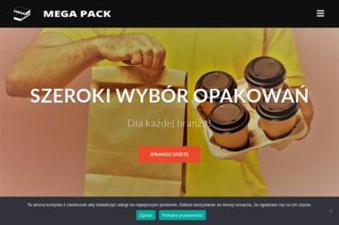 Mega Pack - opakowania, naczynia jednorazowe - Opakowania Jednorazowe Olsztyn