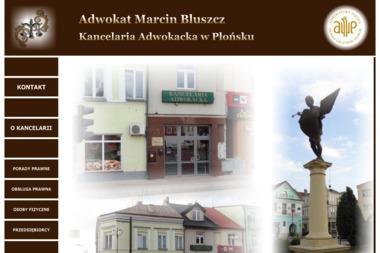 Kancelaria Adwokacka - Adwokat Marcin Bluszcz - Adwokat Płońsk