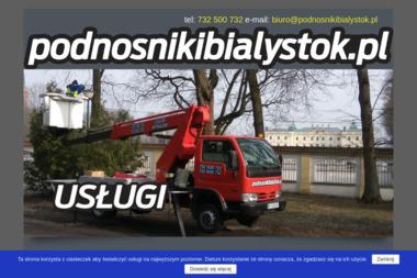 Podnośniki Białystok - Mycie Elewacji Białystok
