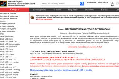 Hurtownia Części Elektronicznych - Części i podzespoły elektroniczne Warszawa