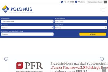 Biuro Podróży Polonus Travel - Wycieczki i wczasy Łódź