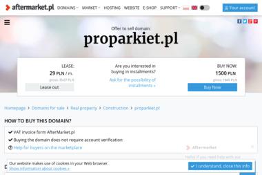 proPARKIET - Układania Parkietu Augustów