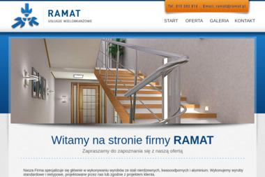 RAMAT - Usługi wielobranżowe - Balustrady Metalowe Głosków