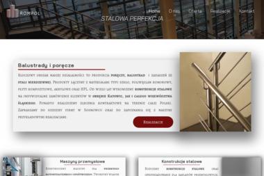 ROMPOL - Balustrady ze Stali Nierdzewnej Zewnętrzne Sosnowiec