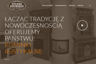 STUDIO ZDUŃSKIE - Budowa Pieca Kaflowego Orneta