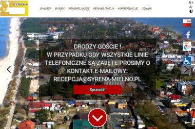 """Ośrodek Rehabilitacyjno - Wypoczynkowy """"SYRENA"""" - Sanatoria, uzdrowiska Mielno"""