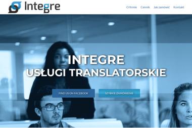 Biuro tłumaczeń INTEGRE - Tłumacze Białopole