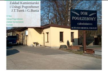 Zakład Kamieniarski i Usługi pogrzebowe J.T.Turek i G.Bunia - Nagrobki Warszawa