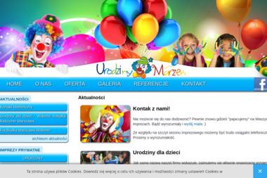 Urodziny Marzeń - Imprezy dla dzieci - Animatorzy dla dzieci Wołomin