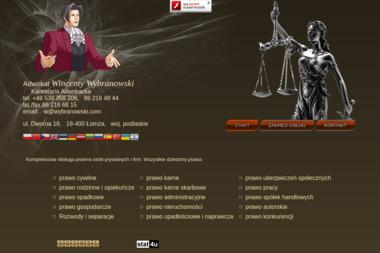 Kancelaria Adwokacka - Wincenty Wybranowski - Adwokat Łomża