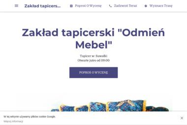 """Zakład tapicerski """"Odmień Mebel"""" - Tapicer Suwałki"""