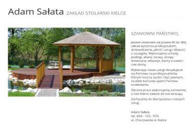 ZAKŁAD STOLARSKI - Adam Sałata - Schody Kielce