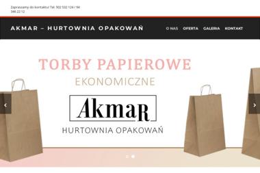 """Firma Produkcyjno- Handlowo- Usługowa """"AKMAR"""" - Pojemniki Plastikowe Koszalin"""