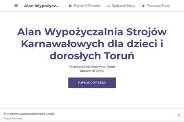 Alan Wypożyczalnia Strojów Karnawałowych - Wypożyczalnia strojów Toruń