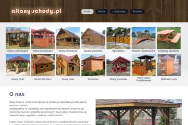 Altany i Schody - Sprzedaż Ogrodzeń Drewnianych Rybnik