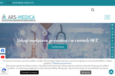 Ars-Medica - Prywatne kliniki Kraków
