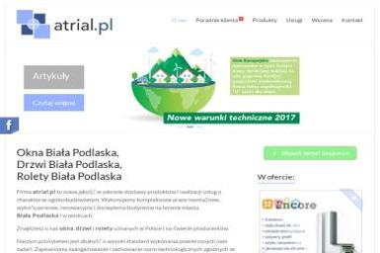 Atrial.pl - Naprawa okien Biała Podlaska