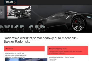 BAK-NER - Elektryk samochodowy Radomsko