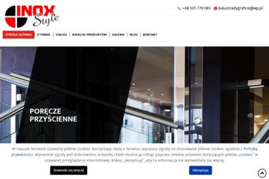 INOX STYLE - Balustrady GRYFICE