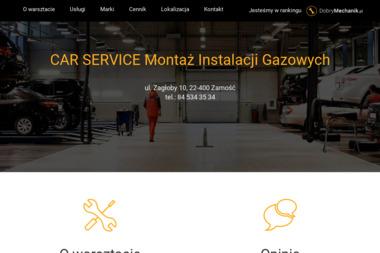 CAR SERVICE Montaż Instalacji Gazowych - Gazownik Samochodowy ZAMOŚĆ
