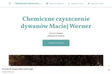 Chemiczne czyszczenie dywanów Maciej Werner - Czyszczenie Tapicerki Grajewo